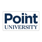 Medium Decal-Point University Vertical, 8 inches wide