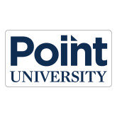 Large Decal-Point University Vertical, 12 inches wide