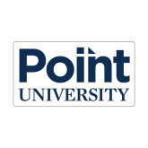 Small Decal-Point University Vertical, 6 inches wide