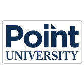 Extra Large Decal-Point University Vertical, 18 inches wide