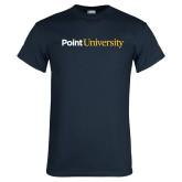 Navy T Shirt-Point University