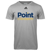 Adidas Climalite Sport Grey Ultimate Performance Tee-Point University Vertical