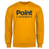 Gold Fleece Crew-Point University Vertical