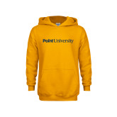 Youth Gold Fleece Hoodie-Point University