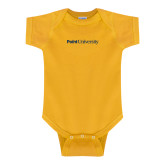 Gold Infant Onesie-Point University