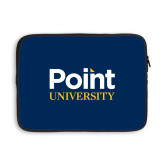 13 inch Neoprene Laptop Sleeve-Point University Vertical