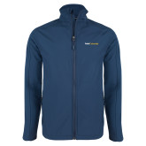 Navy Softshell Jacket-Point University