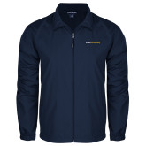 Full Zip Navy Wind Jacket-Point University