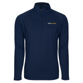 Sport Wick Stretch Navy 1/2 Zip Pullover-Point University