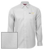 Red House White Diamond Dobby Long Sleeve Shirt-Point University