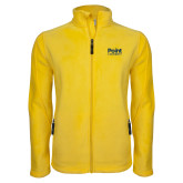 Fleece Full Zip Gold Jacket-Point University Vertical