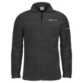 Columbia Full Zip Charcoal Fleece Jacket-Point University