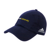 Adidas Navy Slouch Unstructured Low Profile Hat-Point University