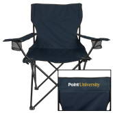 Deluxe Navy Captains Chair-Point University