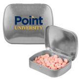 Silver Rectangular Peppermint Tin-Point University Vertical