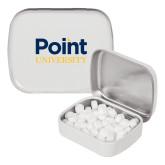 White Rectangular Peppermint Tin-Point University Vertical