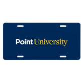 License Plate-Point University