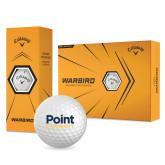 Callaway Warbird Golf Balls 12/pkg-Point University Vertical