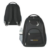 The Ultimate Black Computer Backpack-Point University