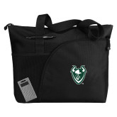 Excel Black Sport Utility Tote-Viking Head