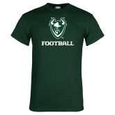 Dark Green T Shirt-Football