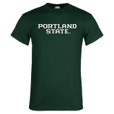 Dark Green T Shirt-Portland State