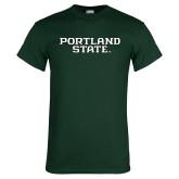 Dark Green T Shirt-Portland State