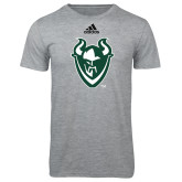 Adidas Sport Grey Logo T Shirt-Viking Head