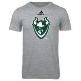 Adidas Sport Grey Logo T Shirt-Viking Head