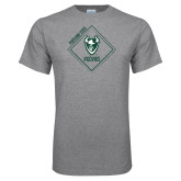 Grey T Shirt-Portland State Sign Design