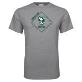 Grey T Shirt-Portland State Sign Design