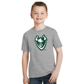 Youth Grey T-Shirt-Viking Head