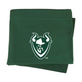Dark Green Sweatshirt Blanket-Viking Head