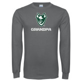 Charcoal Long Sleeve T Shirt-Grandpa