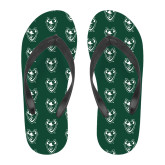 Full Color Flip Flops-Viking Head