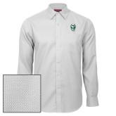 Red House White Diamond Dobby Long Sleeve Shirt-Viking Head