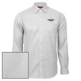 Red House White Diamond Dobby Long Sleeve Shirt-Portland State