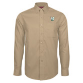 Red House Tan Long Sleeve Shirt-Official Logo