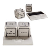 Icon Action Dice-Portland State Engraved