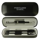 Black Roadster Gift Set-Portland State Engraved