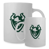 Full Color White Mug 15oz-Viking Head