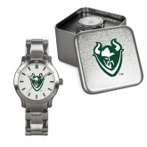 Mens Stainless Steel Fashion Watch-Viking Head