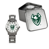 Ladies Stainless Steel Fashion Watch-Viking Head