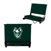 Stadium Chair Dark Green-Viking Head