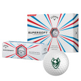 Callaway Supersoft Golf Balls 12/pkg-Viking Head