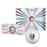 Callaway Supersoft Golf Balls 12/pkg-Viking Head