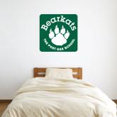 3 ft x 3 ft Fan WallSkinz-Paw Logo