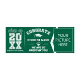 Personalized 3 x 8 Graduation Banner-Graduation Yard Sign