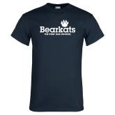 Navy T Shirt-Bearkats