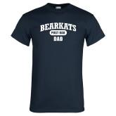 Navy T Shirt-Bearkats Dad